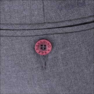 Quần tây nam thời trang màu xám - 09-0685