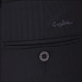Quần tây nam thời trang màu đen có vân - 09-0684