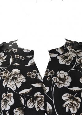 Đầm Hoa Phối Bèo Lai