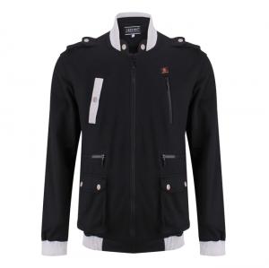 Áo khoác nam thời trang màu đen - 11-0053