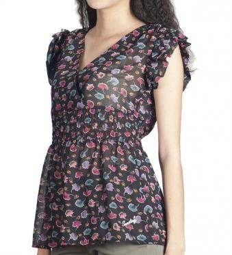 Áo kiểu nữ tay ngắn-ao-13-0270