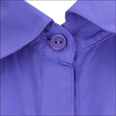 Áo sơ mi tay con thời trang màu tím - 15-0223