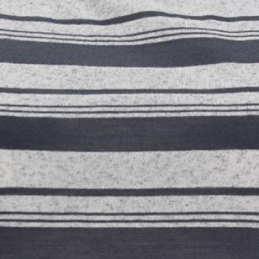 Áo thun nữ sọc trắng xám - 130291-SDL3059