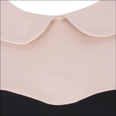 Đầm cup ngực cổ sen không tay - 15-0234-149