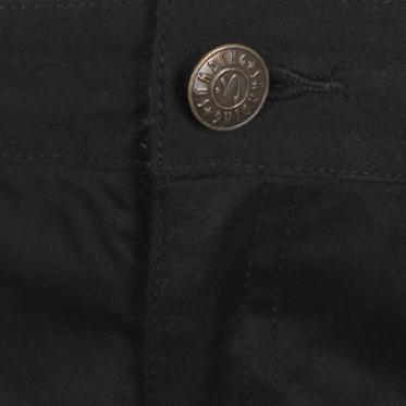 Quần dài nữ màu đen ống đứng basic - 090006-SDL9001