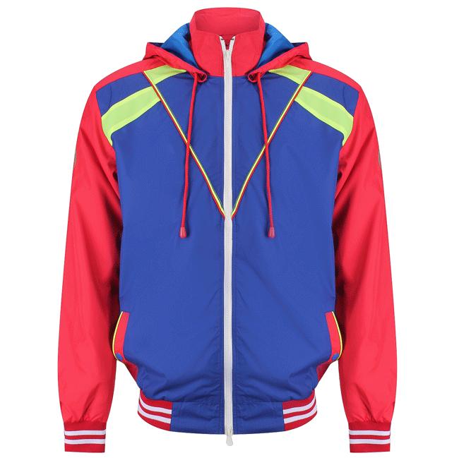 Áo khoác nam thời trang màu đỏ - 14-0311