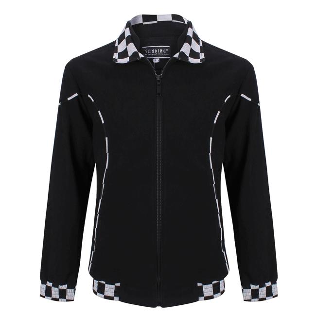 Áo khoác nam thời trang màu đen - 10-0399