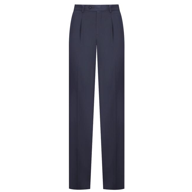 Quần tây nam thời trang màu xanh đen có vân - 09-0684